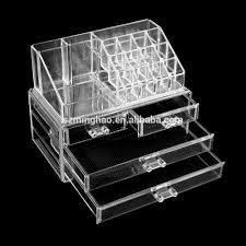 black 6 drawer acrylic makeup organizer black 6 drawer acrylic