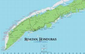 map of roatan honduras honduras archives the indefinite journey