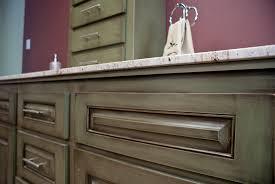 Kitchen Cabinets Glazed Green Glazed Vanity