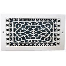 Decorative Return Air Grill Smi Ventilation Products Victorian Base Board 6 In X 10 In