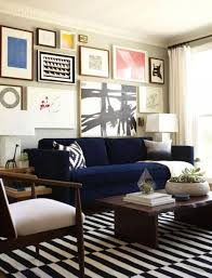 Navy Couch Decorating Ideas Navy Striped Sofa Decorating Ideas Amazing Simple With Navy