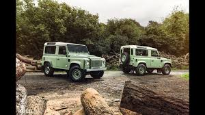 land rover defender autobiography land rover defender limited editions