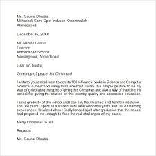 christmas donation letter sample letter template