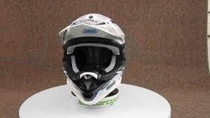 shoei motocross helmet shoei vfx w grant motocross helmet youtube