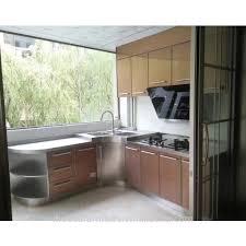 Aluminium Fabrication Kitchen Cabinets In Kerala Aluminium Kitchen Cabinet Design Aluminium Kitchen Cabinet Design
