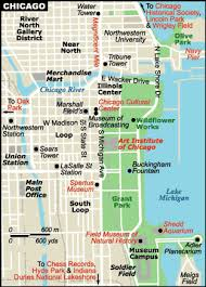chicago tourist map chicago travel information maps tourist guide and united states