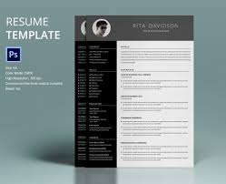 creative professional resume templates creative professional resume 40 resume template designs