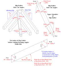 Irregular Hip Roof Framing Irregular Hip Rafter Pitch Angle And Side Cut Angles Roof