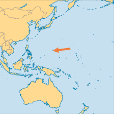 Labeled Map Of The World by Guam Operation World
