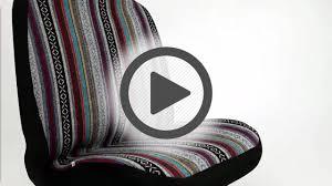 bell automotive baja blanket bucket seat cover pep boys youtube
