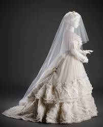 wedding dress in wedded perfection two centuries of wedding gowns part i worn