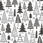 tree fabric wallpaper gift wrap spoonflower