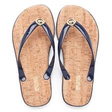 michael michael kors women u0027s jet set mk jelly sandals navy