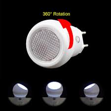 led night light with sensor 1pcs led night light sensor nightlight bulb l 360 degree rotation