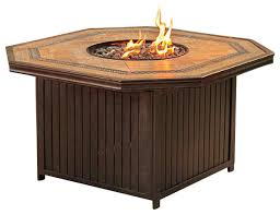 Starfire Fire Pits - agio westminster gas fire pit traditional fire pits by