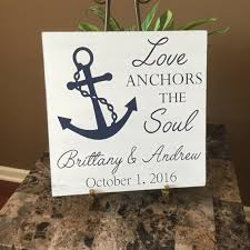 Love Anchors The Soulnautical Anchor - love anchors the soul anchor wood sign by thecraftshackbydanyj