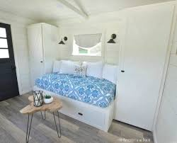 Diy Built In Cabinets by How To Make A Built In Bed Using Kitchen Cabinets