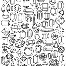 jewel coloring pages coloring pages adults justcolor
