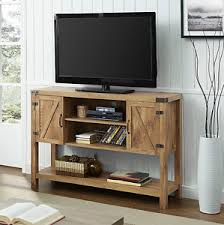 credenza table rustic tv stand 60 inch entertainment center barn doors credenza