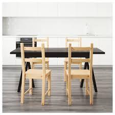 ryggestad grebbestad ivar table and 4 chairs ikea