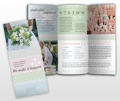 wedding planner business wedding planner wedding planner brochure