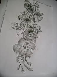 Large Flower Tattoos On - image result for gladiolus designs inkskiii