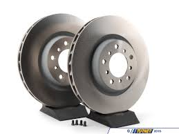 bmw rotors tms2260 front brake rotors original bmw e46 m3 pair