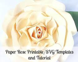 diy large paper flower templates svg cut files giant paper