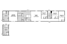 3 bedroom single wide mobile home floor plans models southern homes
