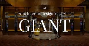 Hospitality Interior Design 2016 Interior Design Magazine Hospitality Giant Cleo Design