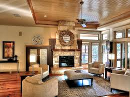 craftsman cottage interior designcraftsman style fireplace living