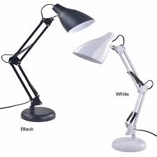 Swing Arm Desk Lamp With Clamp Swing Arm Desk Lamp With Metal Clamp Led Table Lamp American