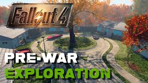 Nuclear Fallout Map by Pre War Exploration Fallout 4 Youtube