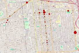 Crime Spot Map How Safe Are You When Walking In The Mission District