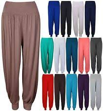 harem trousers plus size for women ebay