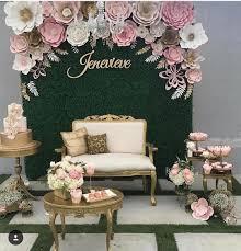 wedding backdrop paper flowers beautiful paper flower backdrop wedding ideas 15 oosile