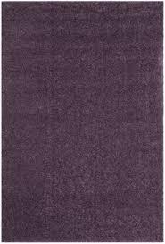 Purple Shag Area Rugs by Eggplant Shag At Rug Studio