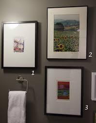 perfect decoration powder room wall art classy design ideas art
