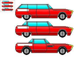 pixel art car 8 bit future car 1 right side view by kieranfilth on deviantart