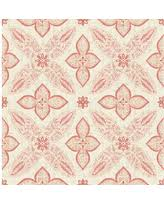 winter deals on geometric bohemian floral wallpaper pink sample