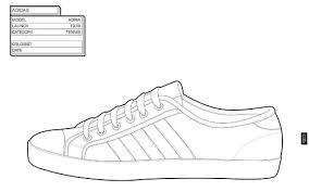 nike running shoe coloring pages image mag