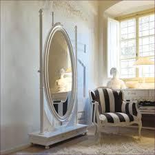 furniture oval bathroom mirrors decorative long wall mirrors