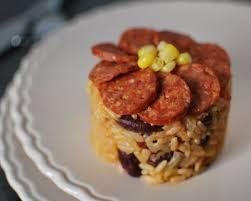 cuisiner haricots rouges recette risotto épicé au chorizo et aux haricots rouges