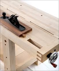 Wooden Bench Vise Plans by Benchcrafted Com Split Top Roubo