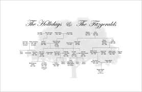 simple family tree template 8 free sle exle format