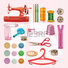 927 sewing kit stock vector illustration and royalty free sewing