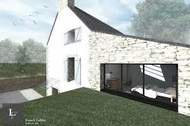 maison l extension d une bretonne morbihan bretagne