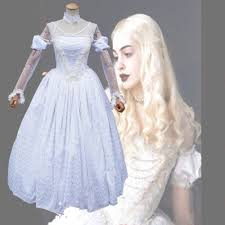 online buy wholesale white queen costume alice wonderland from