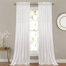shabby chic curtains wayfair