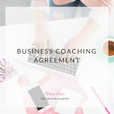 business coaching agreement coaching agreement contract template